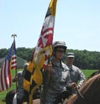 Rocky and me at the Fort McHenry practice mission.